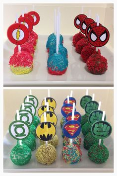 Avenges Theme Cakepops!
