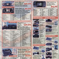 kingmonkey25: Ah the good old days of Special Reserve! Used to make my wish lists from their games list; wish I'd got that Sega soft cartridge case would still look great now!  #retrogaming #retrogamer #retrogames #8bit #16bit #sega #nintendo #atarilynx2 #megadrive #gamegear #sms #segamastersystem2 #gamegear #microobbit