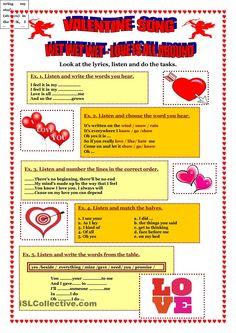 Valentine Song - Wet Wet Wet - Love is all around.
