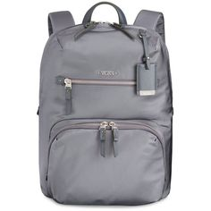 Tumi Voyageur Halle Backpack (2 585 SEK) ❤ liked on Polyvore featuring bags, backpacks, stone, knapsack bags, rucksack bag, backpacks bags, tumi and day pack backpack