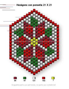 off loom beading techniques Beaded Christmas Decorations, Beaded Ornaments, Xmas Ornaments, Ornament Crafts, Bead Loom Patterns, Peyote Patterns, Beading Patterns, Jewelry Patterns, Beading Ideas