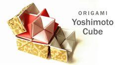 無限に展開する箱の中からもう一つの箱が星形で現れるとっても不思議な「吉本キューブ」(造形作家の吉本直貴氏が考案)をユニット折り紙方式で折る方法。本物のおもちゃ程美しくはありませんが、同じ動きが楽しめます。 既に紹介されている色々な作り方も 参考に、シンプルに楽しく折る方法を考えました。 A4コピー用紙を4枚ご用意...