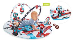 Baby Play Gyms & Playmats: Yookidoo Gymotion Robo Playland