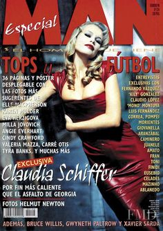 Cover of Man with Claudia Schiffer, February 1998 (ID:17319)| Magazines | The FMD #lovefmd
