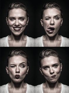 Cabine fotográfica- Scarlett Johansson