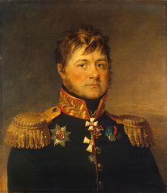 Ivan L. Paul (1768-1840) (1825, Musée de l'Ermitage, Saint Pétersbourg) de George Dawe (1781-1829)