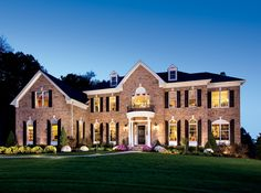 toll brothers edgebrook federal home design. beautiful ideas. Home Design Ideas
