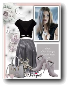 """""""Rosegal 3"""" by marinadusanic ❤ liked on Polyvore featuring vintage"""