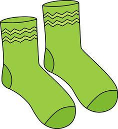 Pair of Green Socks