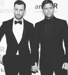 Pin for Later: Love Is in the Air: All the New Celebrity Romances of 2016 — So Far! Ricky Martin and Jwan Yosef