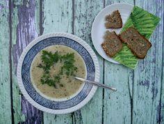 zupa krem ze szparagami