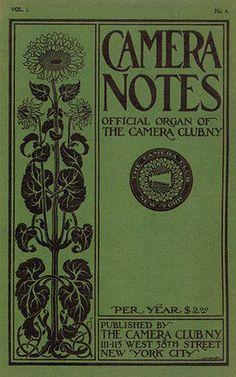 "Alfred Stieglitz ""CAMERA NOTES Vol.1 No.1"", 1897"