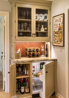 Coffee Bar And Mini Fridge In Master Bat Home Farmhouse With Wood Backsplash Rectangular Medicine Cabinets