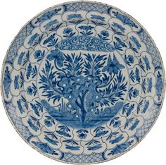 Antique plate....lovely...unusual pattern....