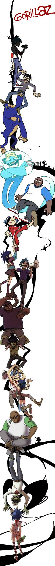 Gorillaz - this is so awesome just love love love :3