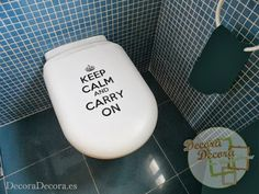 Decorar con Keep Calm and Carry On.