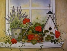 The Timeless Watercolor Paintings of Annie LaPoint
