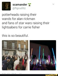 Proud to be part of hoth these fandoms
