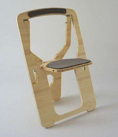 Flat Foldable Furniture - The Leo Salom 'Folding Chair' is Modernly Designed and Portable (GALLERY)