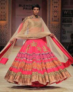 All skirt by Manish Malhotra 2012