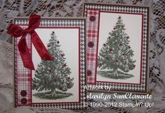 Christmas Lodge by Marilyn SanClemente - Cards and Paper Crafts at Splitcoaststampers
