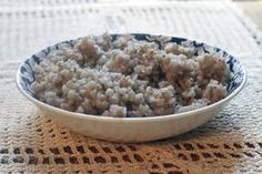 How to Cook Buckwheat Groats  FINALLY!  A simple guide on how to prepare buckwheat to use instead of rice.