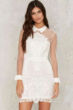 Avery Crochet Lace Dress