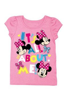 Minnie Mouse It's All About Me Tee (Baby & Toddler Girls)