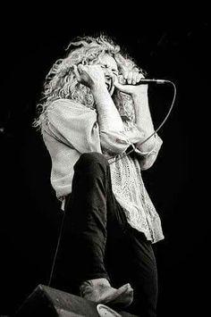 Robert Plant...feeling the music!