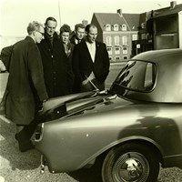 Citeria met Stirling Moss