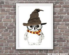 ideas baby gifts harry potter wall art for 2019 Baby Harry Potter, Baby Shower Harry Potter, Harry Potter Wall Art, Harry Potter Painting, Harry Potter Nursery, Theme Harry Potter, Harry Potter Stuff, Harry Potter Letter, Harry Potter Ships