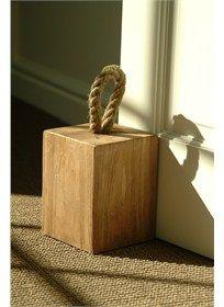 Diy Wooden Doorstop & Stopeur De Porte. Wooden Door StopsWooden ...