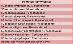 Check it! HIIT workout - via Heather Balogh #Fitfluential ambassador. It will kick y'all booties!