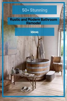 50+ Stunning Rustic and Modern Bathroom Remodel Ideas #bathroomremodelideas Bathroom Interior, Modern Bathroom, Bathroom Ideas, Bathroom Vanity Makeover, Scandinavian Bathroom, Bathroom Renovations, Rustic Style, Mirrors, Bedroom