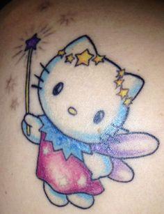 Hello kitty tatoo