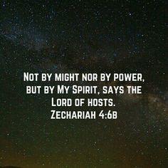 By God's Spirit