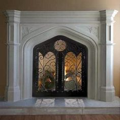 Traditional Gothic Mantel from Design the Space