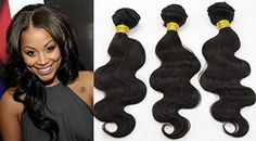"Fancy Hair Body Wave Hair Extension Brazilian Remy Human Hair 3 Bundles Black Color 38""38""38"" Pack of 3 * To view further for this item, visit the image link."