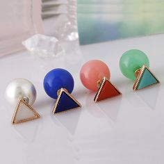Plastic Pearl #Stud #Earrings,  wonderful design http://www.beads.us/product/Plastic-Pearl-Stud-Earring_p192424.html?Utm_rid=219754