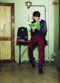 Joo Won for EDWIN Spring 2014