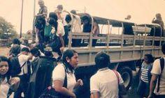 Desalojan a dos mil estudiantes en Oaxaca por fuertes lluvias
