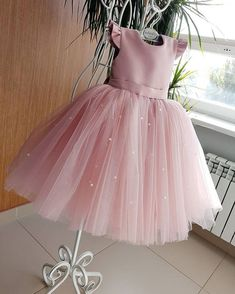 Buy Lovely Pretty Pink Round Neck Tulle Flower Girl Dresses, Cheap Wedding Little Girl in uk. Find the perfect flower girl dresses at PromDress. Our flower girl dresses come in a variety of styles & colors including lace, tulle, purple & gold Toddler Flower Girl Dresses, Tulle Flower Girl, Little Girl Dresses, Baby Dress, The Dress, Girls Dresses, Pink Tulle, Baby Flower, Tulle Flowers