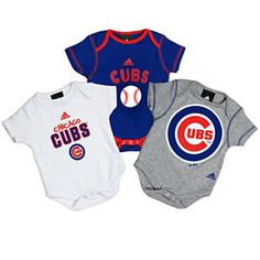 @Jackie Stone just what you will need someday....Chicago Cubs onesises