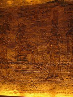 Nefertari Offering To Hathor