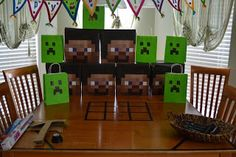 Dad-Geek-Gamer: In That Order: Minecraft Birthday Party v1.0
