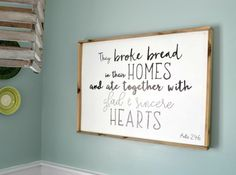 How to Make a Wood Sign with a Custom Quote and Wood Frame - Refresh Living