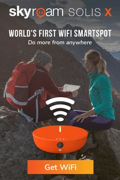 World's First Wifi SmartSpot Camping Survival, Rv Camping, Survival Skills, Camping Gadgets, Glamping, Backpacking, Camper Life, Rv Life, Rv Internet