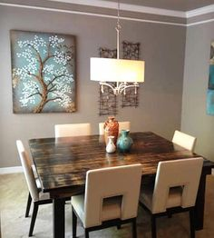 Square Farmhouse Table | Home Kitchen  Pantry | Harbor Hill Furniture | Scoutmob Shoppe | Product Detail
