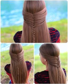 Beautiful long hairstyle, LIKE if you agree #Carlyna #long #hairstyle #like #fashion #beauty #style #show #girls #cute