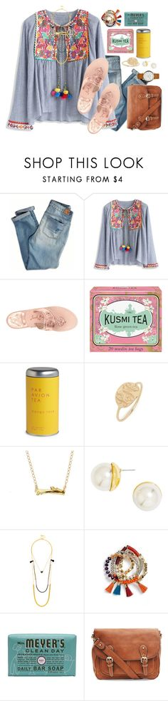 """""""•{it's a paradise:it's a war zone}•"""" by livnewell ❤ liked on Polyvore featuring American Eagle Outfitters, Chicwish, Jack Rogers, Kusmi Tea, Par Avion Tea, BaubleBar, Chupi, Mrs. Meyer's Clean Day and Marc Jacobs"""